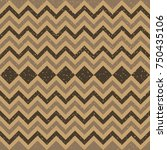 seamless kraft paper brown and...   Shutterstock . vector #750435106