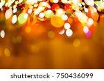 color light blurred background  ... | Shutterstock . vector #750436099