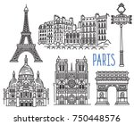architecture  landmarks and... | Shutterstock .eps vector #750448576