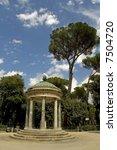 diana temple in villa borghese  ... | Shutterstock . vector #7504720