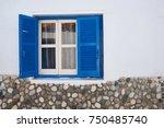 Window In Greece Style Captured ...