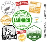 set of travel grunge stamps... | Shutterstock .eps vector #750491338