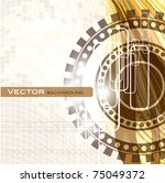 abstract background. eps10. | Shutterstock .eps vector #75049372