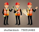 elegant people professional...   Shutterstock .eps vector #750514483