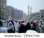 mecca  saudi arabia   28 august ... | Shutterstock . vector #750517150