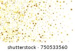many random falling stars... | Shutterstock .eps vector #750533560