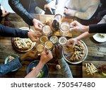 craft beer booze brew alcohol... | Shutterstock . vector #750547480