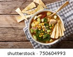 Freshly Cooked Tortilla Soup...