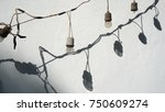 unsafe old weathered bunch of...   Shutterstock . vector #750609274
