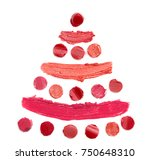 christmas tree of different... | Shutterstock . vector #750648310