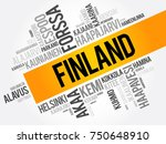 list of cities and towns in... | Shutterstock .eps vector #750648910