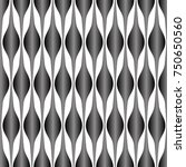 abstract gray curve gradient... | Shutterstock .eps vector #750650560