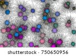 light colored vector texture... | Shutterstock .eps vector #750650956