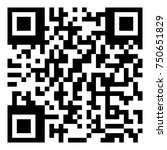 sample qr code icon   vector | Shutterstock .eps vector #750651829