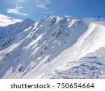 north east slopes of the... | Shutterstock . vector #750654664