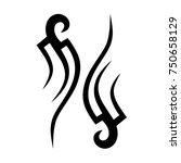 tribal pattern tattoo vector...   Shutterstock .eps vector #750658129
