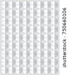 geometric vector pattern.... | Shutterstock .eps vector #750660106