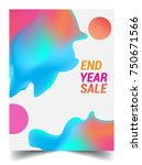 sale banner template design ... | Shutterstock .eps vector #750671566
