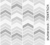 vector seamless zig zag pattern | Shutterstock .eps vector #750697624
