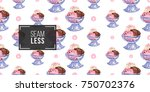 vector seamless pattern with... | Shutterstock .eps vector #750702376