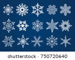 15 different detailed vector... | Shutterstock .eps vector #750720640