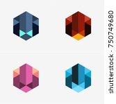 modern abstract design vector... | Shutterstock .eps vector #750749680