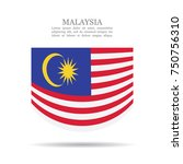 malaysia national flag vector... | Shutterstock .eps vector #750756310