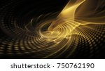 abstract golden background... | Shutterstock . vector #750762190