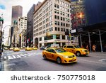 new york   august 30  2014 ... | Shutterstock . vector #750775018