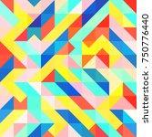 abstract 1980 memphis geometric ...   Shutterstock .eps vector #750776440