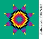 vector sunburst   design...   Shutterstock .eps vector #750777370