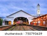 regional town in victoria  ... | Shutterstock . vector #750793639