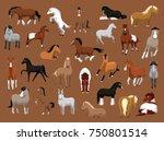 animal cartoon eps10 file format | Shutterstock .eps vector #750801514