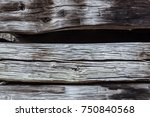 detail of old barn exterior... | Shutterstock . vector #750840568