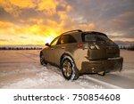 novyy urengoy  russia  ... | Shutterstock . vector #750854608