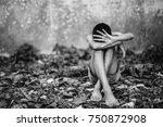 stop abusing boy violence.... | Shutterstock . vector #750872908