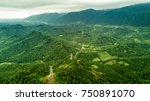 Aerial View Of Mountains In...