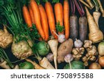 Root crops  carrots  parsley...