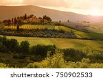 Beautiful Tuscan Landscape At...