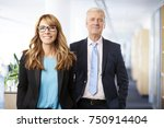 a successful business people... | Shutterstock . vector #750914404