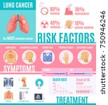 oncology infographics layout... | Shutterstock .eps vector #750946246