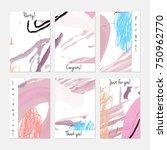 hand drawn creative universal... | Shutterstock .eps vector #750962770