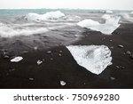 ice that look like diamond is...   Shutterstock . vector #750969280