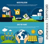 ecology and pollution... | Shutterstock .eps vector #750970180
