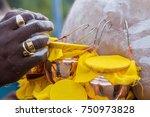 during thaipusam festival in... | Shutterstock . vector #750973828