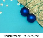 A New Year And Christmas Blue...