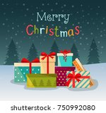 Merry Christmas Stylized...
