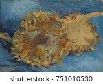 Sunflowers  By Vincent Van Gog...