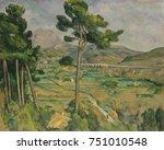 mont sainte victoire  viaduct... | Shutterstock . vector #751010548