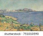 Gulf Of Marseilles Seen From...